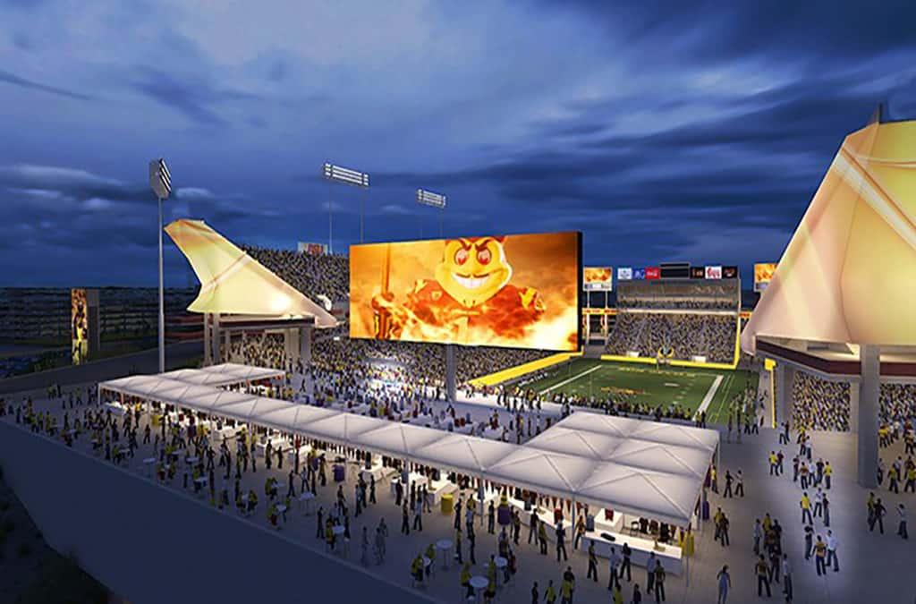 ASU Sun Devil Stadium Renovation