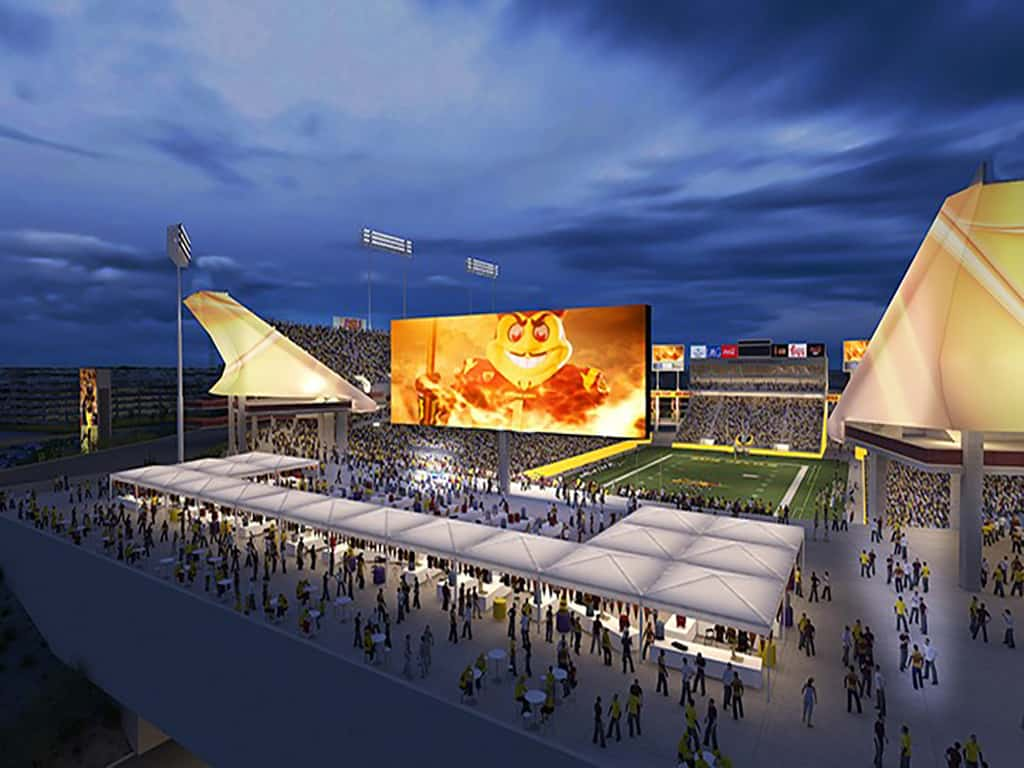 ASU Sun Devil Stadium Renovation